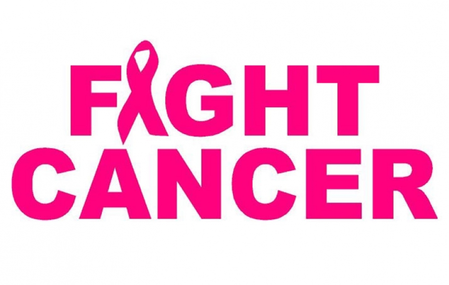Fight cancer pink logo